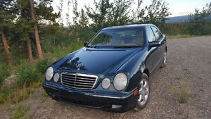 2002 Mercedes-Benz E-Class 4Matic AWD Sedan