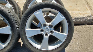 """17"""" Stock Mazda3 Mags w/ tires"""