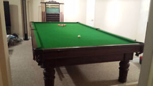 6' x 9' Pool / Snooker Table