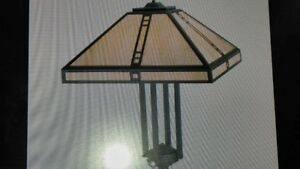 New in box - Large Craftsman ceiling light - reduced