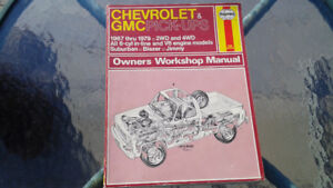 old car and truck service and repair manuals