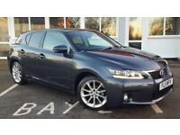 Lexus CT CT200h SE-L (grey) 2011