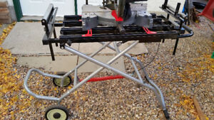 CRAFTSMAN MITRE SAW with STAND