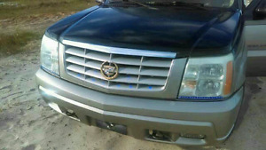 $2000. Need gone today. Won't start. Needs fuel pump. 02Escalade