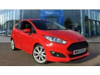 2015 Ford Fiesta ZETEC S With Privacy Glass Manual Hatchback Petrol Manual