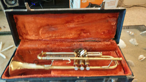 Fully functioning trumpet