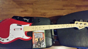 Guitar hero 3 et guitare xbox 360