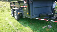 12 ft PJ Utility Dump Trailer must go! $7500