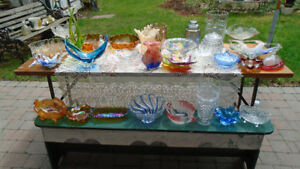Household CARNIVAL,DEPRESSION, CRYSTAL, GLASSES, and others - $2