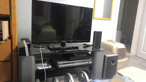 32 inch flat screen tv and tv stand
