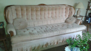 Couch, Chairs, Coffee & End Tables, Lamps, Shelving Unit