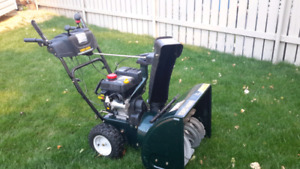 Yardman 2-stage self-propelled snowblower