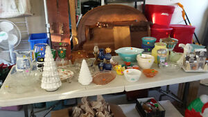 Garage sale - Halloween-pottery-furniture-vintage-xmas-etc
