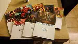 Civil War Graphic Novels, Comics Marvel