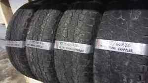 P275/60R20 (nitto terra grapplers) set of 4