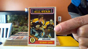 Bobby Orr Hockey card  # 130