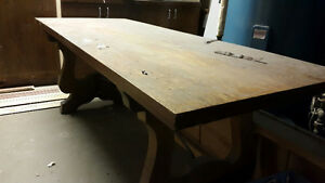 *Free* Solid Wood Dining Table - Need gone ASAP.