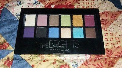 The Brights Maybelline New York Eyeshadow Palette