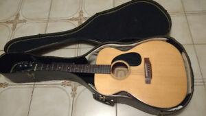Vintage 1960's Acoustic Guitar