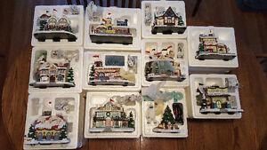 Rudolph's Christmas Town - 11 pieces Cambridge Kitchener Area image 1