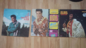 Lot 4: 3 Elvis Vinyl LP Records
