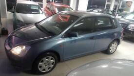 2002 HONDA CIVIC SE Blue Auto Petrol