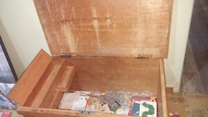 Coffe Table or Blanket Box Antique Pine dovetailed