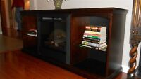 ELECTRIC FIREPLACE WITH STAND/ENTERTAINMENT UNIT
