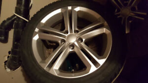 Audi A4 2009 Winter Tires + RIMS 2000$ Value!!! Only 800$