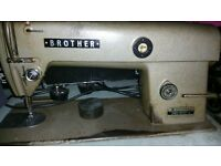 DB2-B757-3 BROTHER INDUSTRIAL SEWING MACHINE - Made in JAPAN