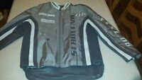 Schott NYC Custom Leather Motorcycle Jacket. icon,alpinestars