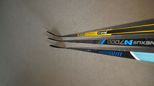 $100 for 3 Hockey Sticks