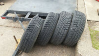 All 4 tires for $$160 obo 195/70 R14