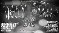 Hell Hounds, Northern Fallout, Singularity and Aiseiri - $15