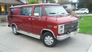 to be CERTIFIED 1986 G20  CAMPER VAN 6.2 DIESEL