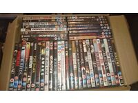 Horror and Action movies (43 in total)