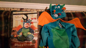 6 monah to 2t dragon costume