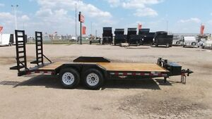2015 HH Trailers 8.5x18+ INDUSTRIAL FLATBED