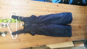 Girls size 4t snow pants and jacket and boys size 2t snow suit