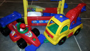 Toy Car & Truck Building Set with Tools