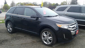 A 2011 Ford Edge Limited AWD from ROEVER MOTOR SALES!