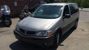 05 Pontiac Montana extended low km's,  safety included London Ontario image 2