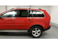RED VOLVO XC90 2.4 D5 R-DESIGN AWD 5D 200 BHP DIESEL *BUY FROM £43 PER WEEK*