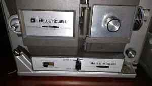 Vintage Bell and Howell 8mm Super 8 projector