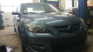 Mazdaspeed 3 quebec plated low km