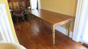 19th century harvest table