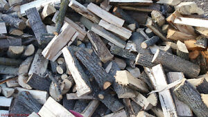 Hardwood firewood sold by the bush cord 128 cubic feet