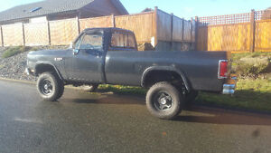 1990 Dodge Other Pickups LE Pickup Truck