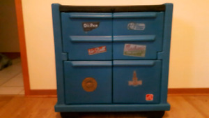 EUC   Step 2 Toolbox dresser  2 shelves