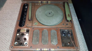 Meissner Phono Recorder 9-1065 (Record Cutting Lathe)